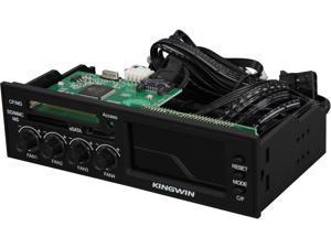 KINGWIN FPX-003 Multi-Function LCD Fan Controller Panel Black