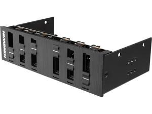 KINGWIN FPX-006 6 Channel Multi-Fan Controller / 20W / LED