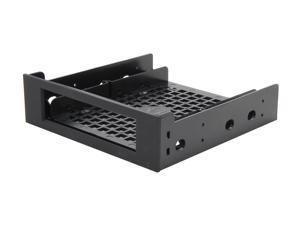 "BitFenix BFA-ADPT-525KK-RP 5.25"" Drive Bay Adapter (SofTouch bezel) - Black"