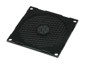 Silverstone FF81B 80mm Fan Filter with Grill (Black)