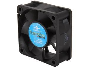 Vantec Thermoflow 60mm Double Ball BearingTemperature Controlled Case Fan - Model TF6025