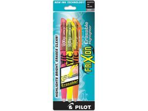 Frixion Lite Erasable Highlighter, Assorted Ink, Chisel, 3 Per Pack