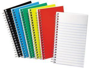 Wirebound Pocket Memo Book, Narrow Rule, 5 X 3, White, 50 Sheets/Pad