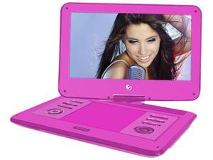 "13.6"" Portable DVD Player Pink"