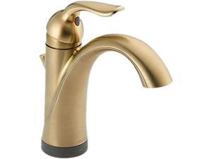 Delta-538T-CZ-DST Lahara, Single Handle Lavatory Faucet with Touch2O.xt(TM) Technology, Champagne Bronze