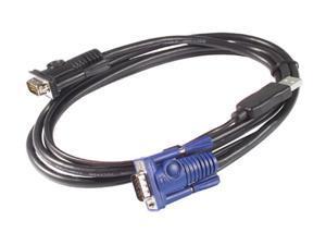 APC 6 ft. KVM USB Cable AP5253