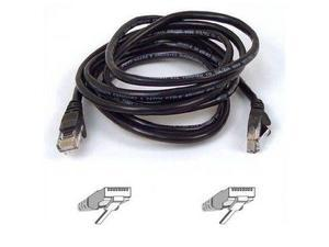 Belkin A3L980-20-BLK-S 20 ft. Cat 6 Black Network Cable