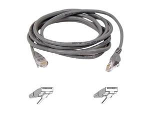 BELKIN A3L791-100 100 ft. Cat 5E Gray Network Cable