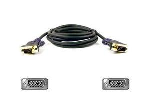 Belkin Model F2N028-06-GLD 6 ft. Gold Series HD-15 to HD-15 M/M Cable M-M