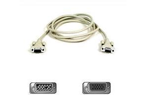 Belkin F2N025-06-T 6 ft. Pro Series VGA Monitor Extension Cable with Thumbscrews