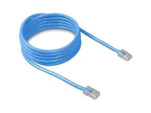 BELKIN A3L781-01-BLU 1 ft. Cat 5E Blue Color Patch Cable CAT5e RJ-45M / RJ-45M