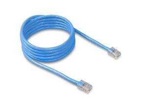 BELKIN A3L781-07-BLU 7 ft. Cat 5E Blue Patch Cable CAT5e RJ-45M / RJ-45M