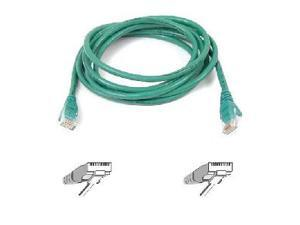 BELKIN A3L791-02-GRN 2 ft. Cat 5E Green Color Patch Cable CAT5e RJ-45M / RJ-45M