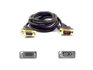 Belkin Model F2N025-10-GLD 10 ft. Gold Series VGA/SVGA Monitor Extension Cable M-F