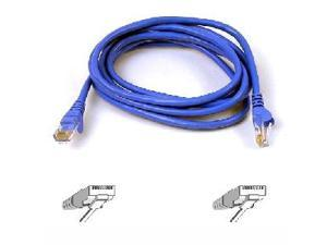BELKIN A3L980-09-BLU-S 9 ft. Cat 6 Blue UTP RJ45M/RJ45M Snagless  Patch Cable