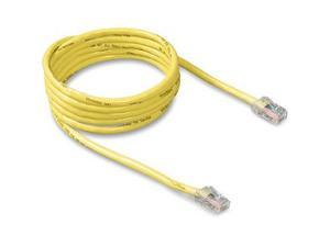 BELKIN A3L781-03-YLW 3 ft. Cat 5E Yellow Color RJ45M/RJ45M Patch Cable
