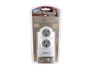 MONSTER 120241-00 2 Outlets 1110 j Surge Suppressor