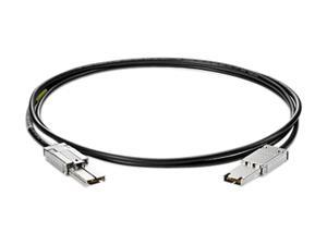 HP Model AE470A 6.58 ft. Serial Attached SCSI (SAS) Min-Min 1x-2M Cable