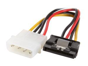 "Rosewill RCW-306 - 6"" Serial ATA (SATA) II 5.25"" Male to 15-Pin Serial ATA Female Multi-Color Power Adapter Cable"