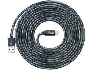 Rosewill RCCC-16005 Nylon Braided with Aluminum Shell Nylon Braided with Aluminum Shell, MFi Certified