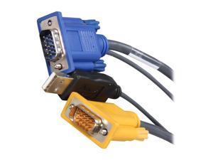 TRIPP LITE 10 ft. USB (2-in-1) KVM cable kit P776-010