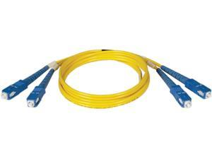 Tripp Lite N356-01M 3.2 ft. Duplex Singlemode Fiber Patch Cable