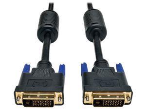Tripp Lite P560-025 Black 25 ft. M-M DVI Dual Link TMDS cable - DVI-D, M/M