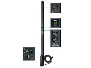 Tripp Lite PDUMV20HVNET Switched 0U 200/208/230/240V 20A 10 ft Single-Phase Power Distribution Unit