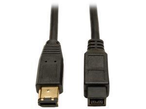 Tripp Lite F017-010 10 ft. IEEE-1394b FireWire 800 Gold Hi-Speed 9pin/6pin Cable M-M