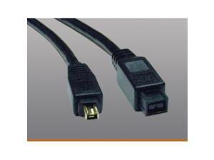 Tripp Lite Model F019-006 6 ft. IEEE-1394b FireWire 800 Gold Hi-Speed 9pin/4pin Cable M-M