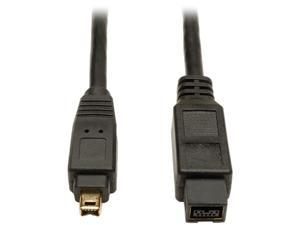 Tripp Lite F019-006 6 ft. IEEE-1394b FireWire 800 Gold Hi-Speed 9pin/4pin Cable M-M