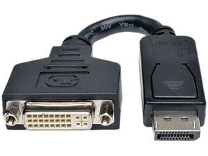 "TRIPP LITE 6"" Displayport Male to DVI-I Female Adapter Cable P134-000"