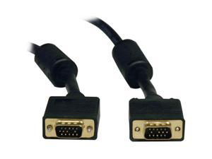 TRIPP LITE 3 ft. SVGA Monitor Gold Cable w/RGB Coax HD15M/M P502-003