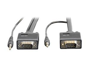 TRIPP LITE 25 ft. SVGA/VGA Monitor + Audio Cable with Coax P504-025
