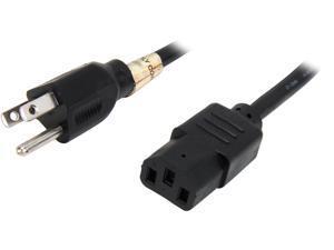 Tripp Lite Model P006-004 4 ft. 18AWG Power cord (NEMA 5-15P to IEC-320-C13)