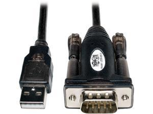 Tripp Lite Model U209-000-R 5 ft. USB to Serial Adapter (USB-A Male to DB9M) M-M