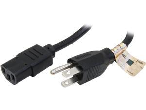 Tripp Lite Model P010-012 12 ft. Universal Computer Power Cable NEMA5-15P to IEC-320-C13F