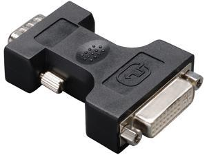 Tripp Lite DVI to VGA Cable Adapter, DVI-I to HD15 F/M (P126-000)