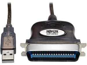 Tripp Lite Model U206-006-R 6 ft. 6 ft USB to Parallel Printer Adapter