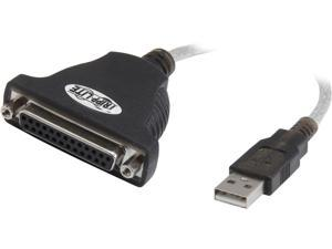 Tripp Lite Model U207-006 6 FT USB to Parallel Printer Adapter Cable M-F