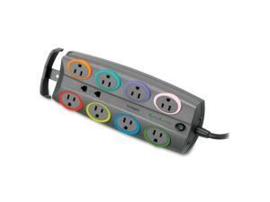 Kensington 62688 6 Feet 8 Outlets 1890 joules SmartSockets Basic Adapter