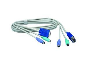 TRENDnet 6 ft. KVM Cable (male-to-male) TK-C06