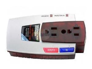 MONSTER POWER MP AV 200 2-Outlet A/V PowerCenter(TM) AV 200 with CleanPower(TM) Stage 1 v.2.0