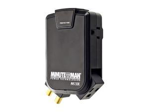 Minuteman MMS130RC 3 Outlets 1080 joule Wall-tap Surge Suppressor