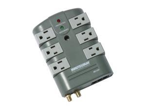 Minuteman MMS760RCT 6 Outlets 2160 joule Surge Suppressor with coax and phone line protection
