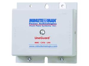 Minuteman LineGuard MMS-CAT6-LAN Surge Suppressor