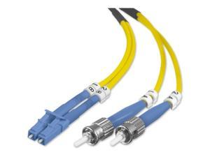 BELKIN F2F802L0-02M 6.56 ft. Yellow Color Fiber Optic Duplex Patch Cable