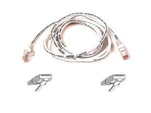 BELKIN A3L791-15-WHT-S 15 ft. Cat 5E White Color Snagless Patch Cable