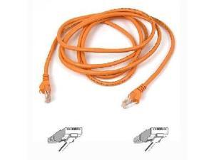 BELKIN A3L791-04-ORG 4 ft. Cat 5E Orange Color UTP Patch Cable
