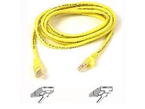 Belkin A3L980-40-YLW-S 40 ft. Cat 6 Yellow UTP Patch Cable